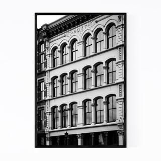 Noir Gallery Cleveland, Ohio Architecture Framed Art Print