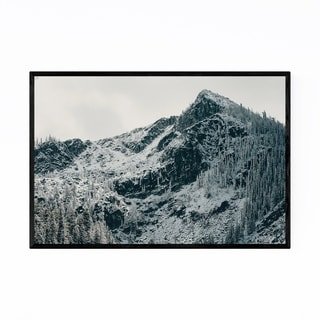 Noir Gallery Jughandle Peak Idaho Mountains Framed Art Print