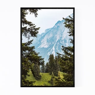 Noir Gallery Tegelberg Mountain German Alps Framed Art Print
