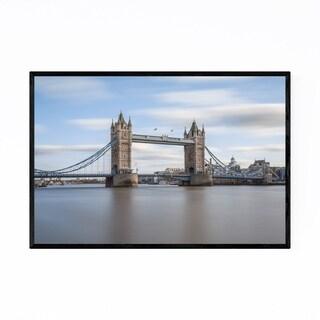 Noir Gallery Tower Bridge London England UK Framed Art Print