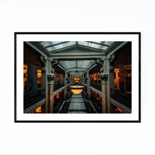 Noir Gallery Washington DC Architecture Photo Framed Art Print
