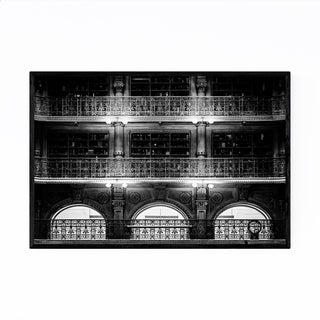 Noir Gallery Baltimore Historic Architecture Framed Art Print