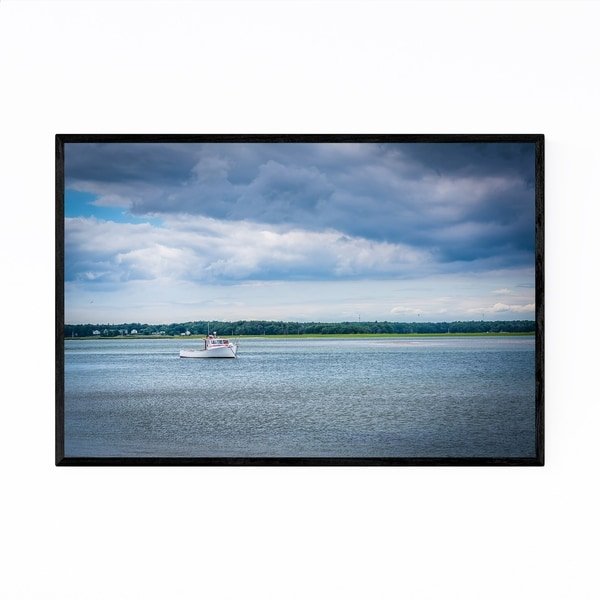 Noir Gallery New Hampshire Hampton Harbor Framed Art Print