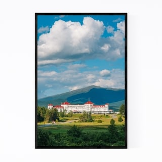 Noir Gallery Mount Washington New Hampshire Framed Art Print