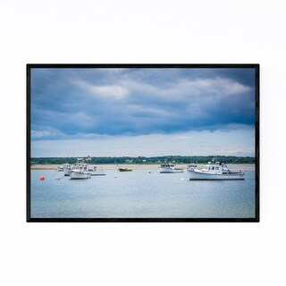 Noir Gallery New Hampshire Hampton Beach Framed Art Print