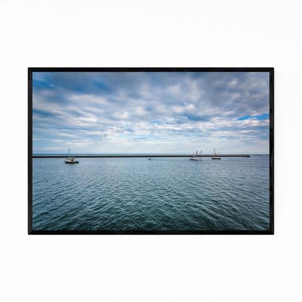 Noir Gallery Cape Cod Provincetown Harbor Framed Art Print