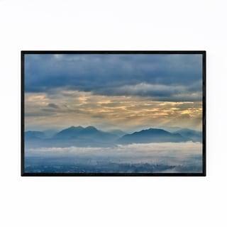Noir Gallery Pai Thailand Mountains Nature Framed Art Print
