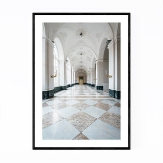 Noir Gallery Royal Palace of Naples Italy Framed Art Print