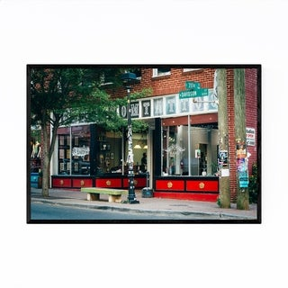 Noir Gallery Charlotte, North Carolina NoDA Framed Art Print
