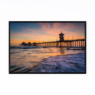 Noir Gallery Huntington Beach California Framed Art Print