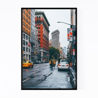 Noir Gallery Flatiron Building New York City Framed Art Print