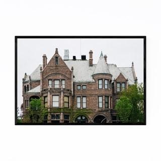 Noir Gallery Detroit Architecture Framed Art Print