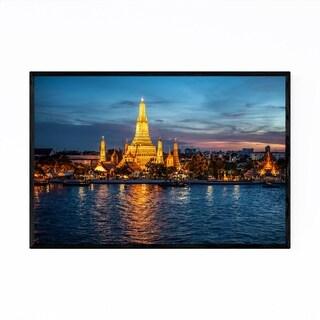 Noir Gallery Wat Arun Bangkok Thailand Framed Art Print