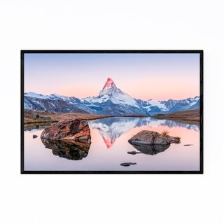 Noir Gallery Matterhorn Switzerland Alps Framed Art Print