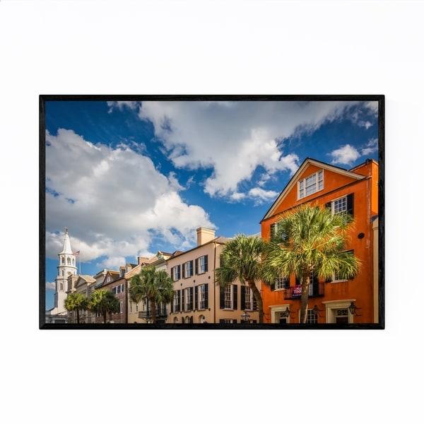 Noir Gallery Charleston SC Architecture Framed Art Print