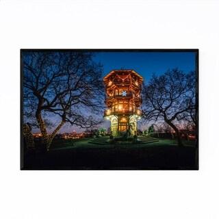 Noir Gallery Patterson Park Pagoda Baltimore Framed Art Print