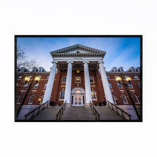Noir Gallery Hood College Frederick Maryland Framed Art Print