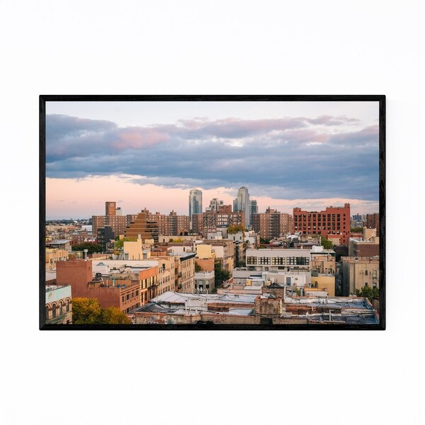 Noir Gallery East Village New York City View Framed Art Print