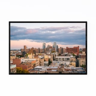 Noir Gallery East Village New York City View Framed Art Print