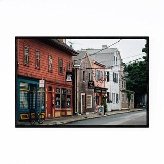 Noir Gallery Salem Massachusetts Derby Street Framed Art Print