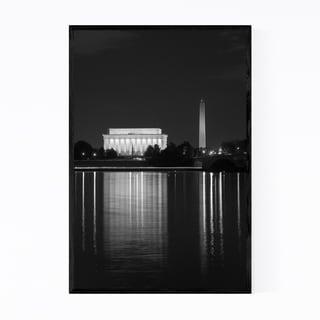 Noir Gallery Washington DC Lincoln Memorial Framed Art Print