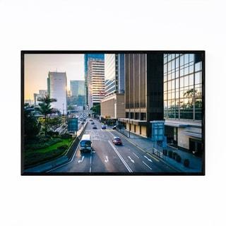 Noir Gallery Hong Kong Urban Cityscape Photo Framed Art Print