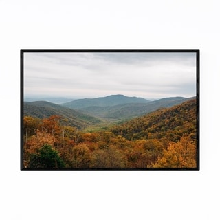 Noir Gallery Shenandoah Blue Ridge Mountains Framed Art Print