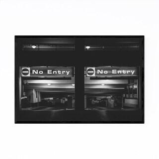 Noir Gallery Dark Urban Photography Toronto Framed Art Print