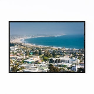 Noir Gallery Ventura California Coastal View Framed Art Print