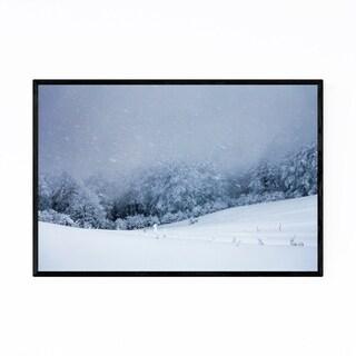 Noir Gallery Bulgaria Mountain Winter Framed Art Print