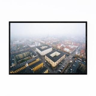 Noir Gallery Copenhagen Denmark City View Framed Art Print