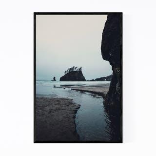 Noir Gallery La Push Second Beach Washington Framed Art Print