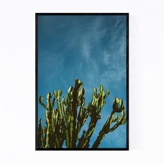 Noir Gallery Cactus Desert Floral Botanical Framed Art Print