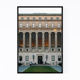 Noir Gallery Columbia University New York NYC Framed Art Print
