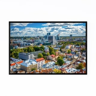 Noir Gallery Tallinn Old Town Europe Urban Framed Art Print