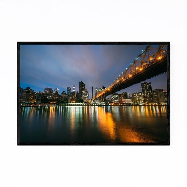 Noir Gallery Queensboro Bridge New York City Framed Art Print
