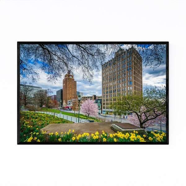 Noir Gallery Downtown Harrisburg Pennsylvania Framed Art Print