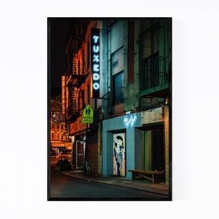 Noir Gallery Chinatown Tuxedo Sign New York Framed Art Print