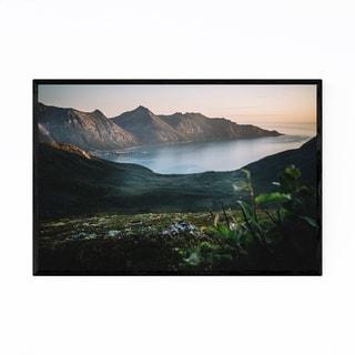 Noir Gallery Fjordgard Senja Norway Landscape Framed Art Print
