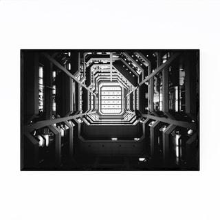 Noir Gallery Toronto Modern Architecture Framed Art Print
