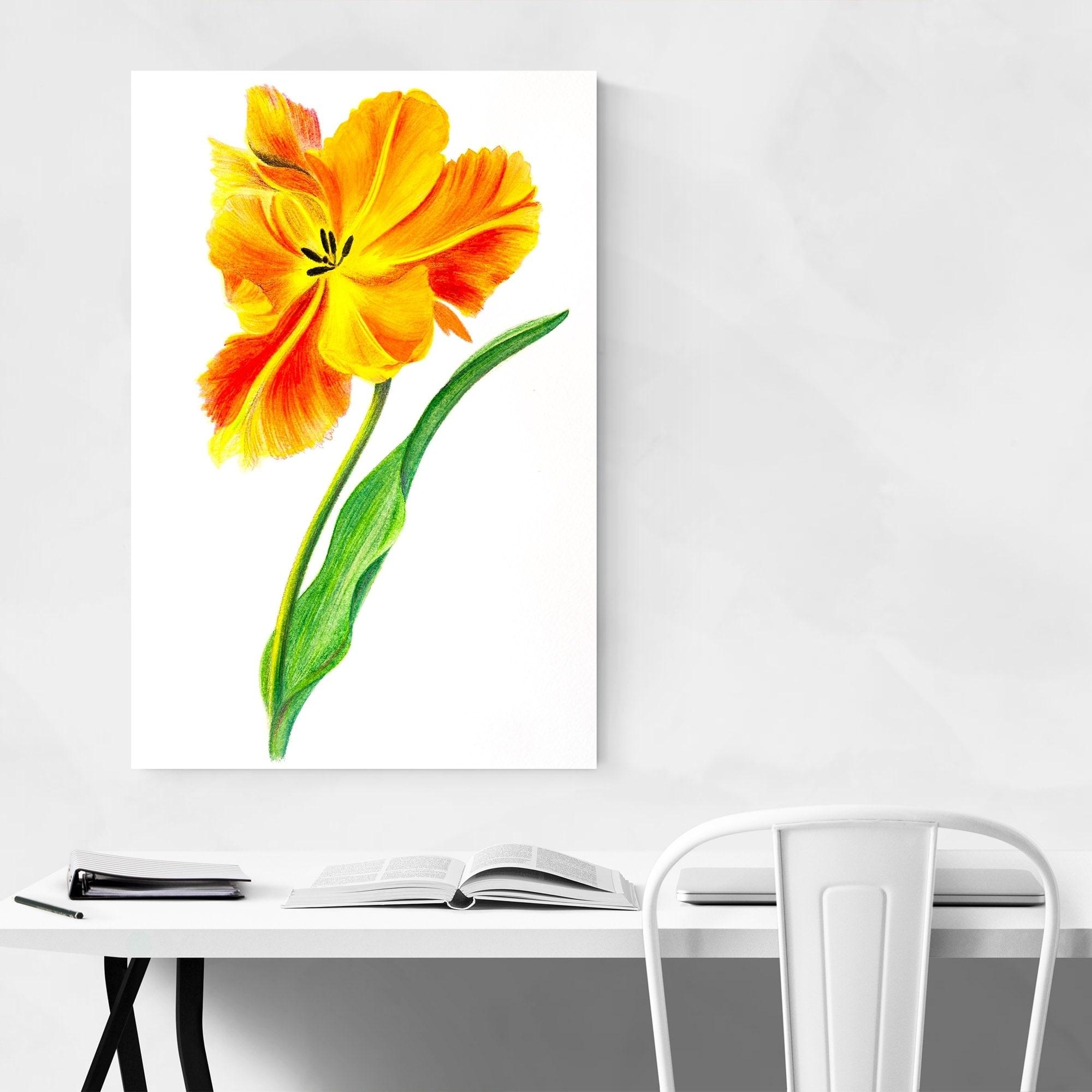 8 x 10 Inches Botanical Flower Illustration Unframed Hydrangea Print