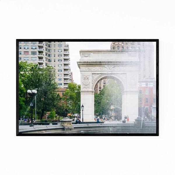 Noir Gallery Washington Square Arch New York Framed Art Print