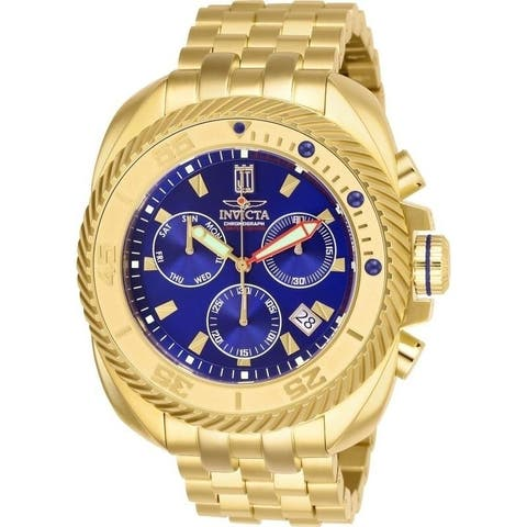 Invicta Men's 26421 'Jason Taylor' Gold-Tone Stainless Steel Watch