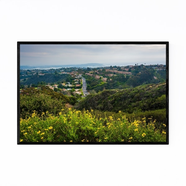 Noir Gallery La Jolla California Mt. Soledad Framed Art Print