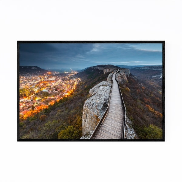 Noir Gallery Provadiya Bulgaria Mountains Framed Art Print