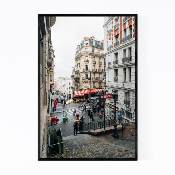 Noir Gallery Montmartre Metro Paris France Framed Art Print