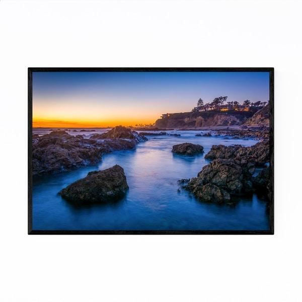 Noir Gallery Corona del Mar California Sunset Framed Art Print