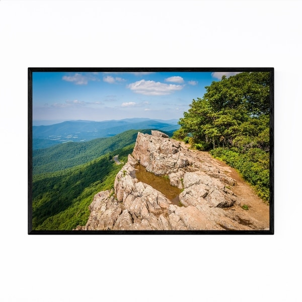Noir Gallery Mountains Shenandoah Virginia Framed Art Print