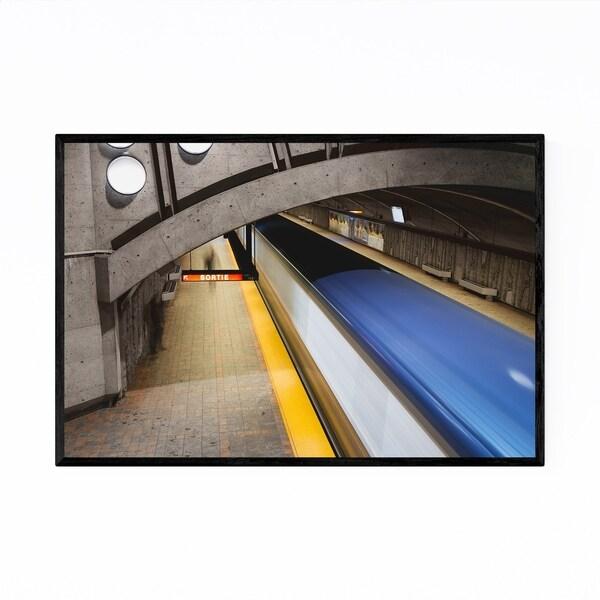Shop Noir Gallery Montreal Quebec Metro Station Framed Art
