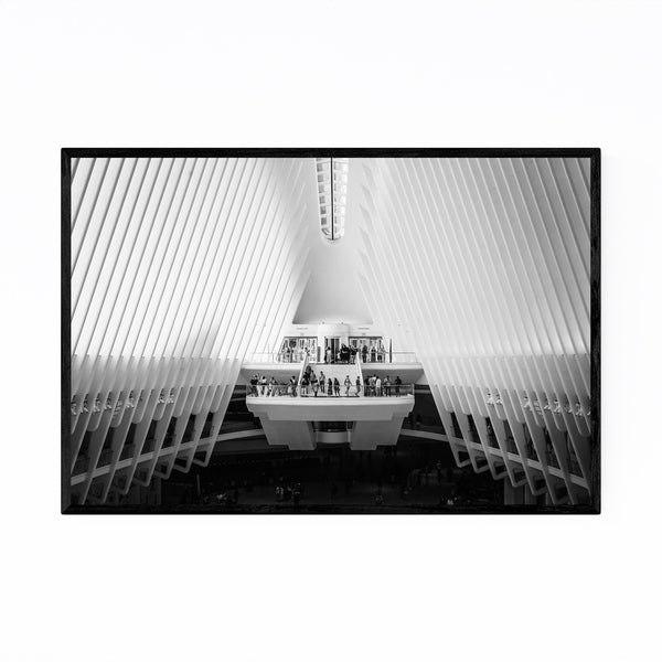 Noir Gallery Oculus New York Architecture Framed Art Print